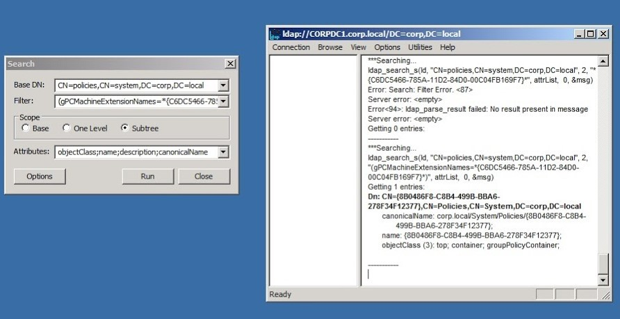 screenshot to find out which GPO is causing issue for Normal Group Policy Software Installation
