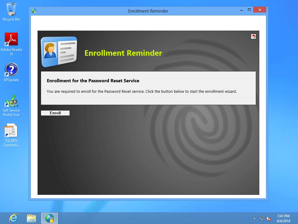 Start browser