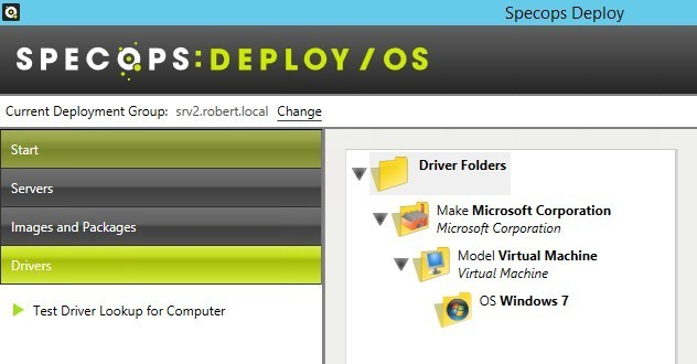Test Driver Lookup 1